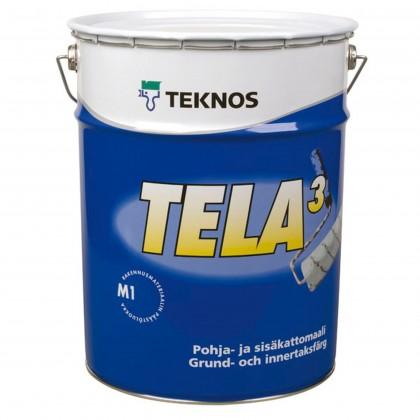 Sisäkatto-ja pohjamaali Tela 3Sisämaalit
