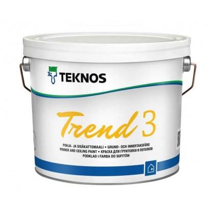 Trend 3 Pohja-ja sisäkattomaali 39,90€/9LSisämaalit
